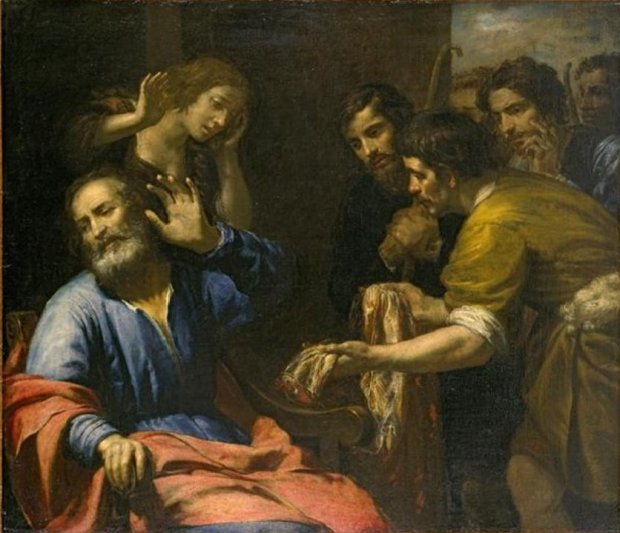 Giovanni_Andrea_de_Ferrari_-_'Joseph's_Coat_Brought_to_Jacob',_oil_on_canvas,_c._1640,_El_Paso_Museum_of_Art